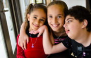 Souzan, George, Natalie and Michelle Assaad, Melody's Family